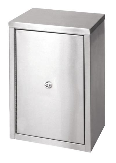 Medium Double Door Narcotic Cabinet W 2 Shelves