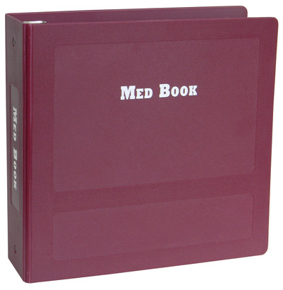 "2.5"" Med/Treatment Binders"