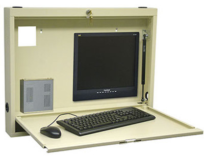 Omnimed Compact Informatics Wall Desk (291512)