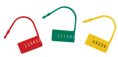 Safety Control Seals W Numbers 100 Pack (484107)