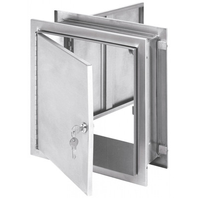 "Pass-Thru Narcotic Cabinets (5""- 7.25"") Wall Thickness"