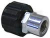 "22mm Screw Coupler x 3/8"" FPT"