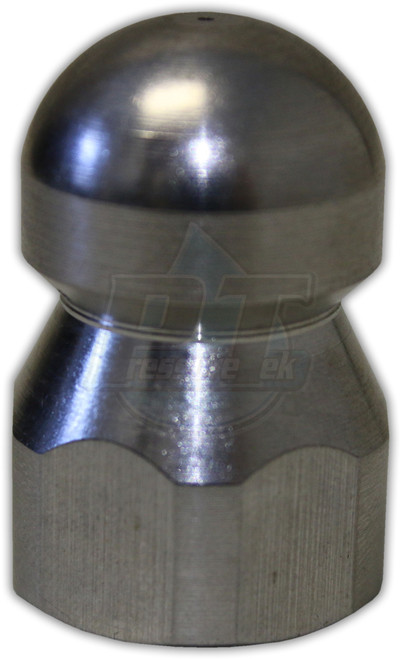 """S.S. Sewer Nozzle 3/8"""" FPT"""