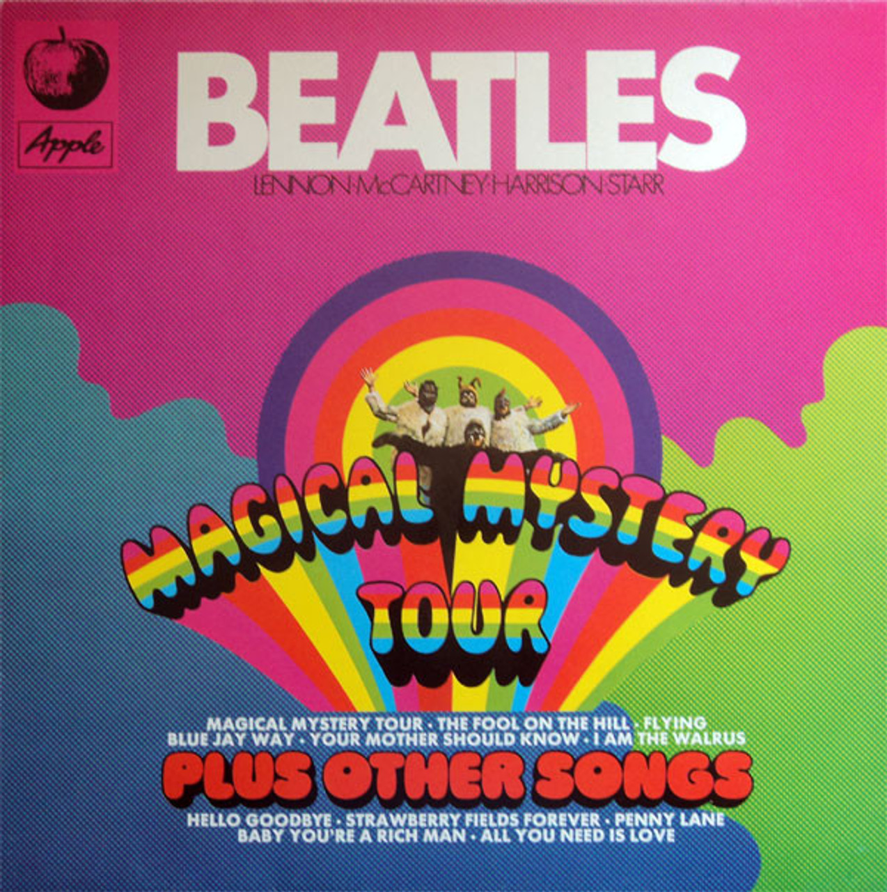 the beatles magical mystery tour plus other songs yellow vinyl lp planetmusic33. Black Bedroom Furniture Sets. Home Design Ideas