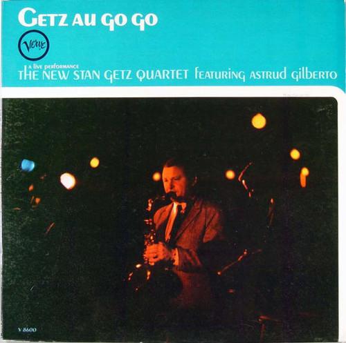 STAN GETZ Getz Au Go Go - Rare Mono Verve LP w/Mint Vinyl