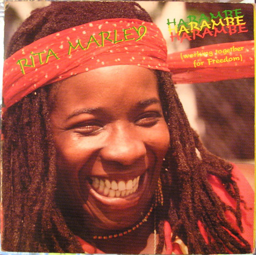 HARAMBE Rita Marley - 1982 Sanachie Label Release w/Mint Vinyl