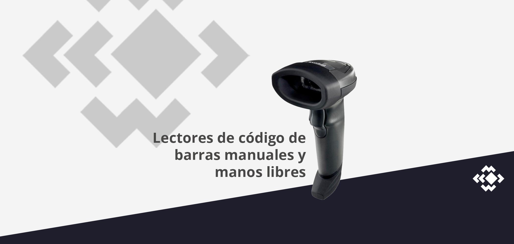 Lectores de códigos de barras manuales y manos libres