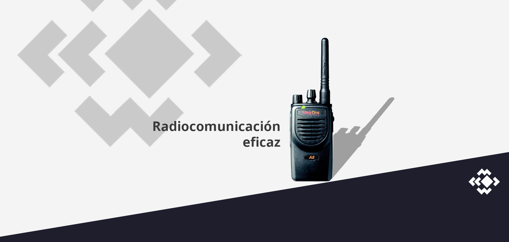 Radiocomunicación eficaz