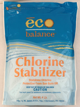 Eco Balance Chlorine Stabilizer #4 - In Box