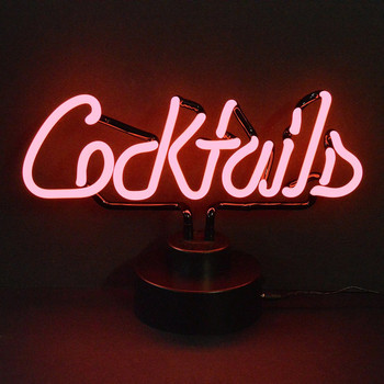 Neon Sculpture - Cocktails