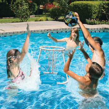 Classic Pro Water Basketball Game - Actual Photo