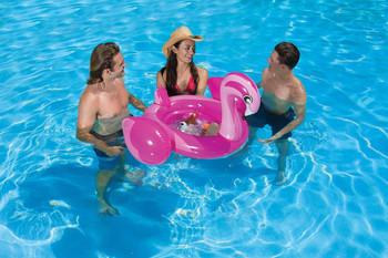 Flamingo Beverage Tub - Actual Photo