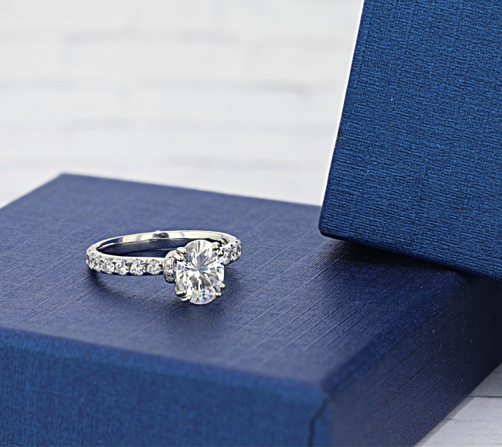 Shop Moissanite Rings