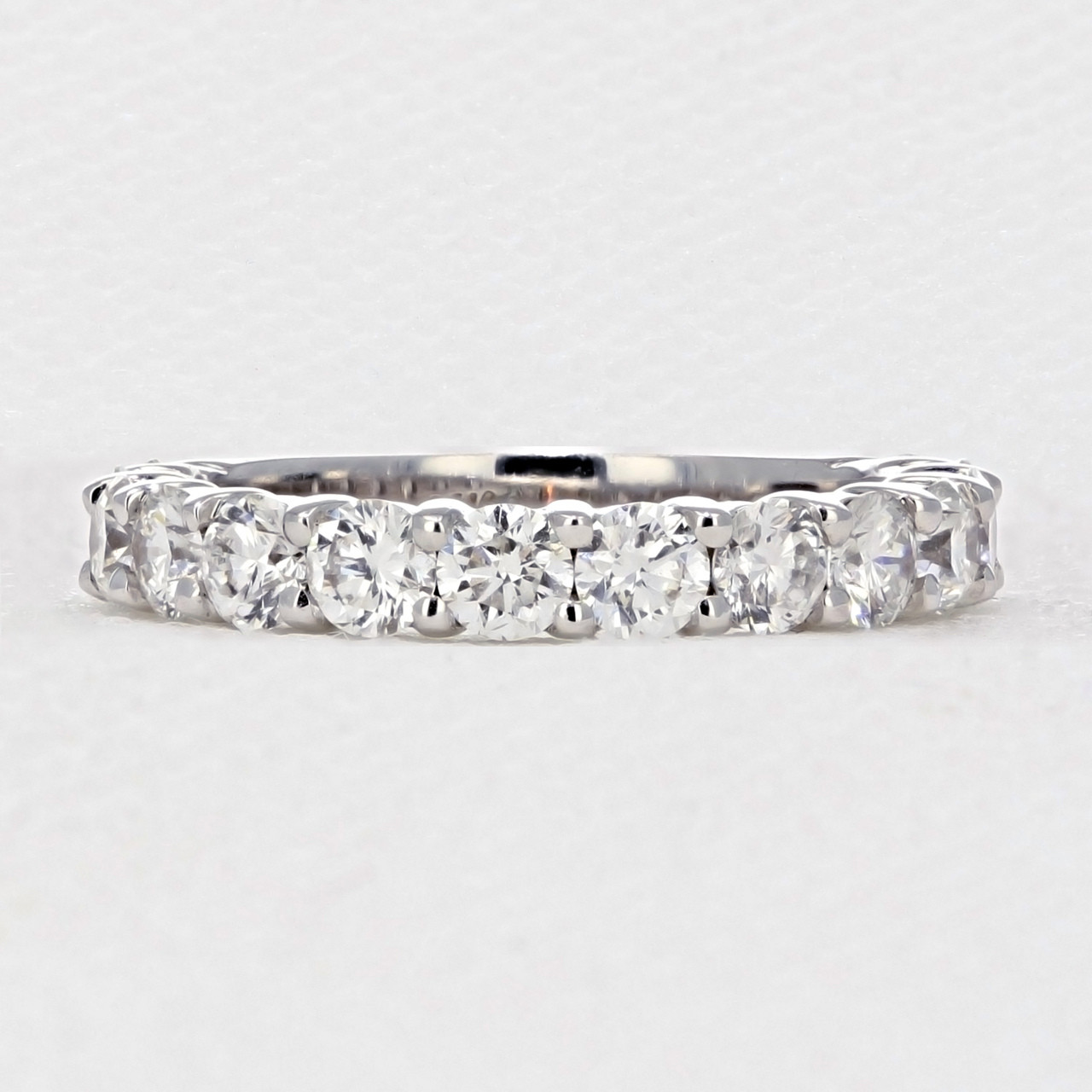 band once engagement wedding in rings diamond products white a round upon gold shared prong