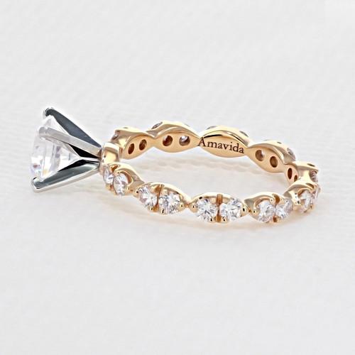 Micro Prong Engagement Ring (AV27R)