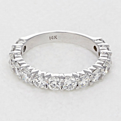 Shared Prong Wedding Band (LB255)