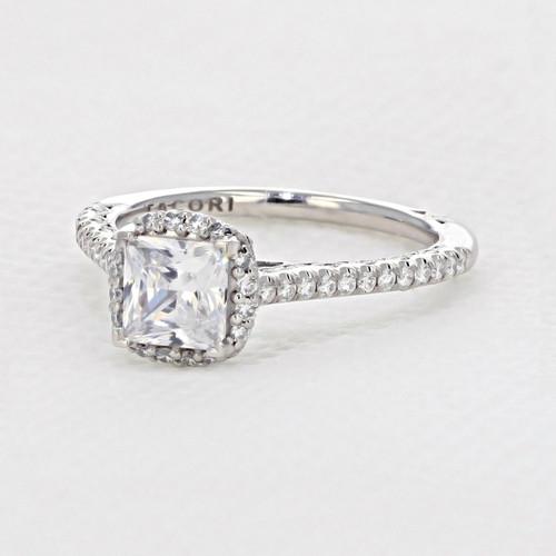 Tacori Petite Crescent Engagement Ring (HT254715PR55)