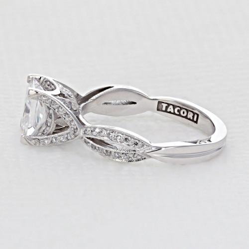 Tacori Ribbon Engagement Ring (2565PR65W)