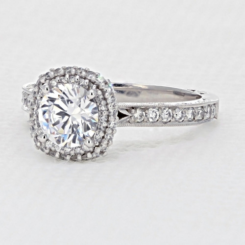 Tacori Blooming Beauties Engagement Ring  (HT2522CU65)