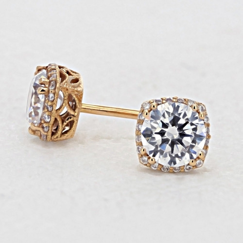 Tacori Dantela Fashion Earrings (FE6436PK)