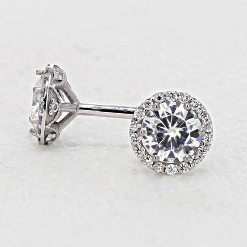 Tacori  Diamond Bloom Moissanite Fashion Earrings (FE6705)