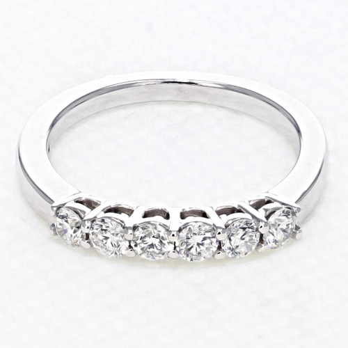 Shared Prong Wedding Band (FG539B)