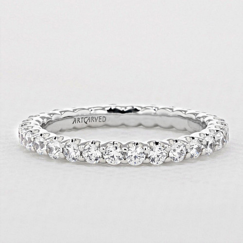 Shared Prong Wedding Band (33-V10E4W65)