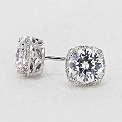 Tacori  Dantela Moissanite Fashion Earrings (FE6436-M)