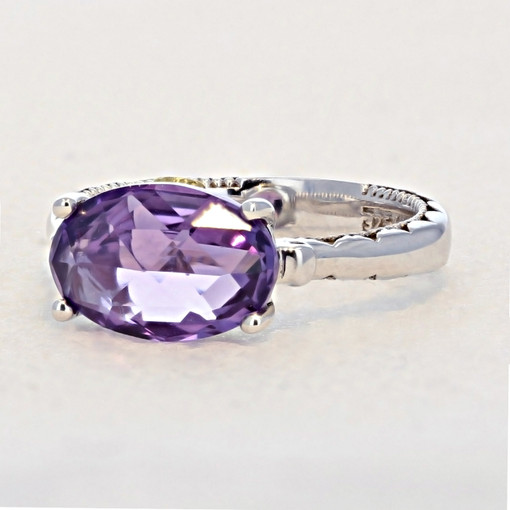 Gemma Bloom Amethyst Fashion Ring (SR13901)