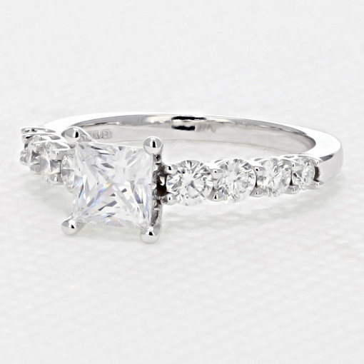 Shared Prong Engagement Ring (FG509)
