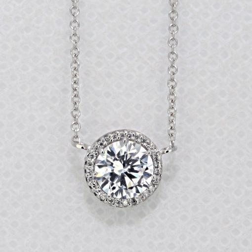 Tacori Dantela Moissanite Fashion Necklace (FP6706-M)
