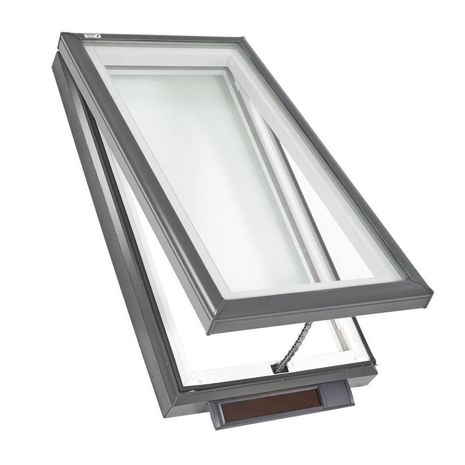 Solar Powered Fresh Air Skylights