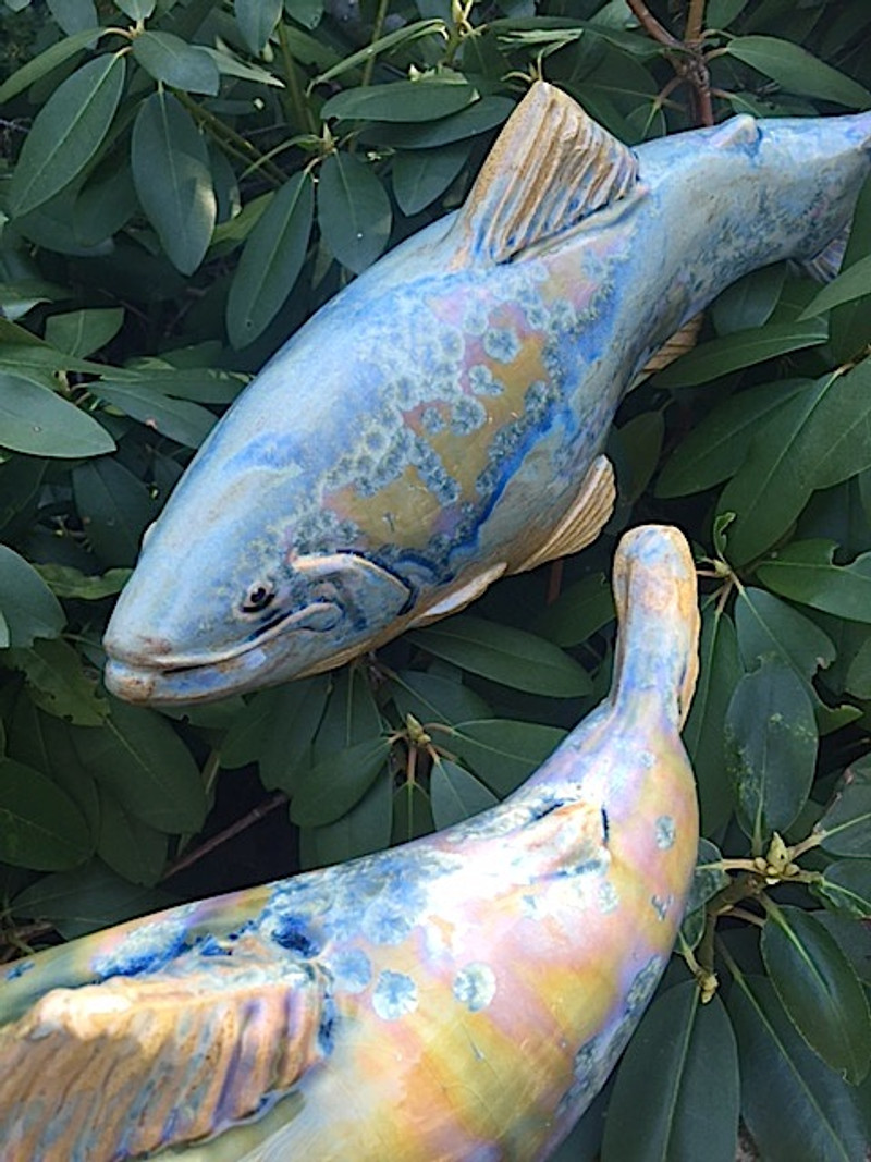 NEW Blue Garden Trout