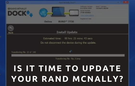 Is it Time To Update Your Rand McNally GPS?