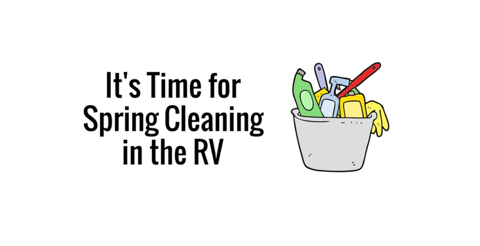 Spring Cleaning Your RV: Wash Wax All and Norwex
