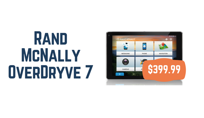 Rand McNally OverDryve 7 RV