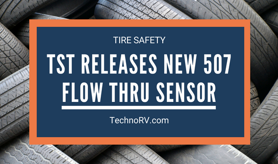 TST Releases a New Flow Thru Sensor to the 507 TPMS Series