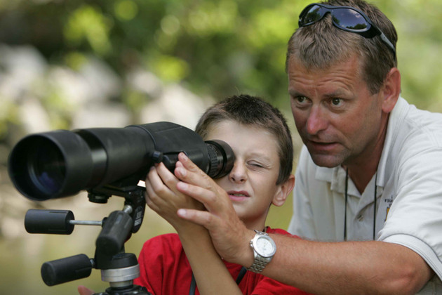 Birding Events with Dad this Father's Day