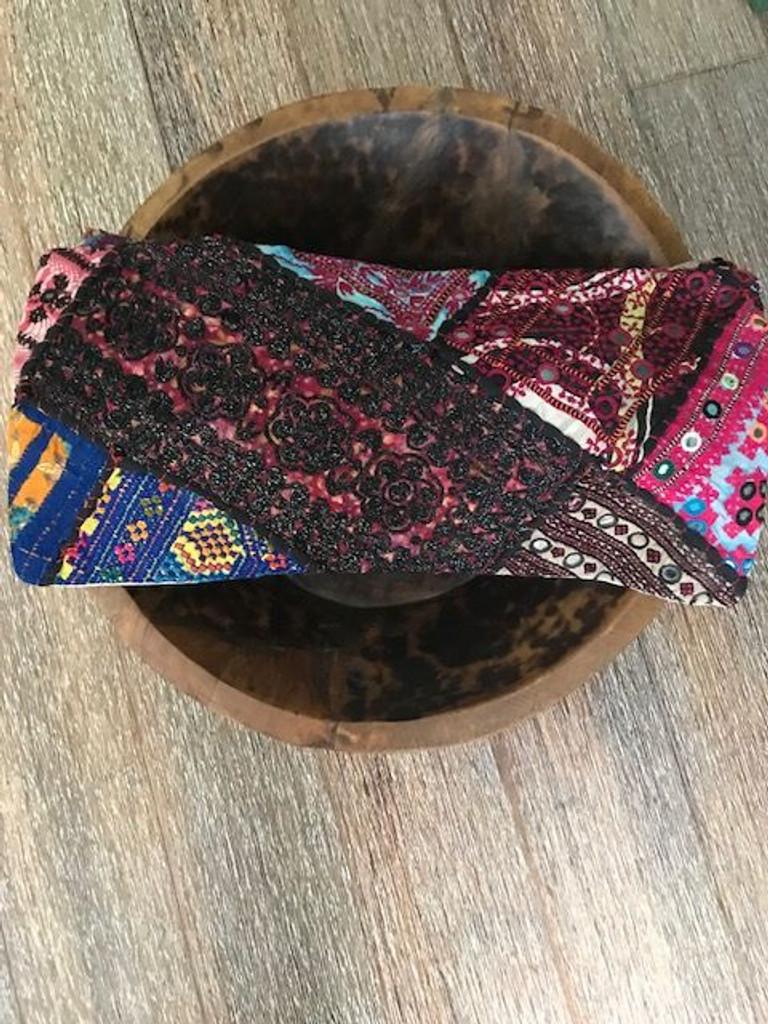 Hand Made Vintage Banjara Cushion 10