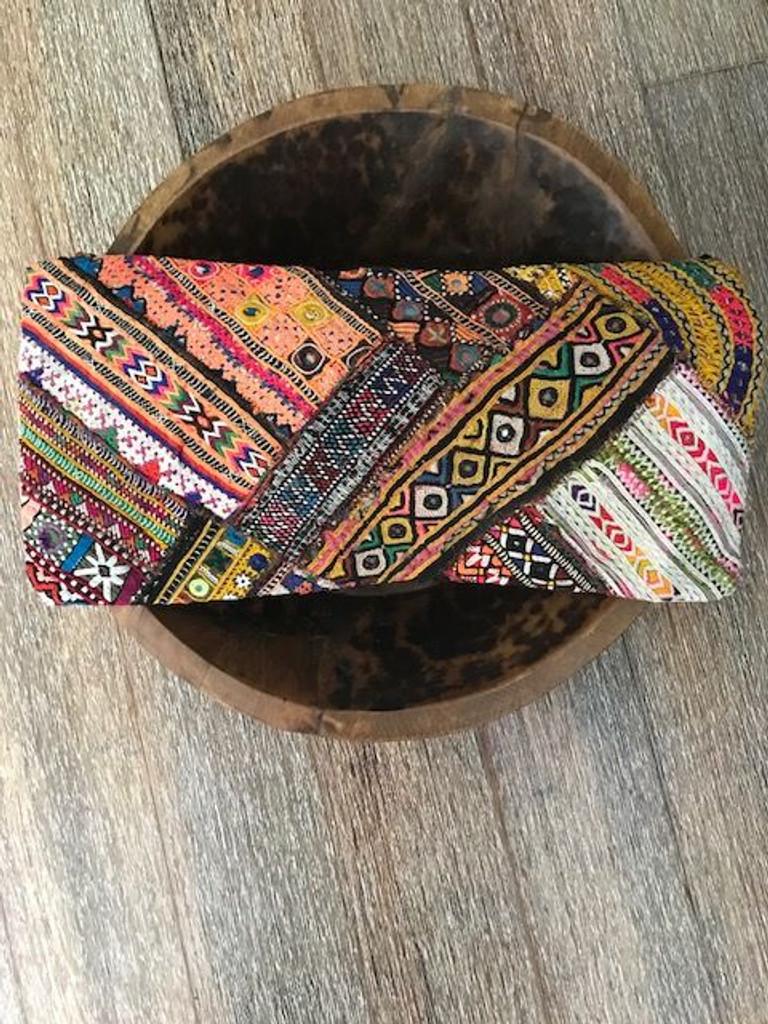 Hand Made Vintage Banjara Cushion 11
