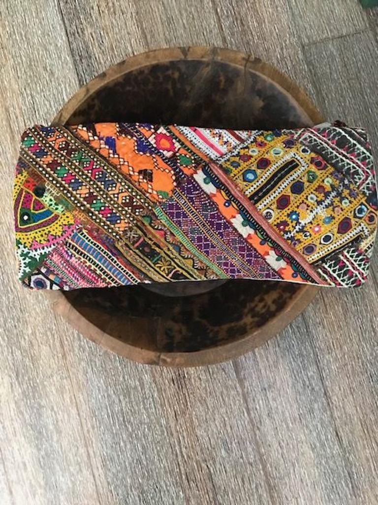 Hand Made Vintage Banjara Cushion 12