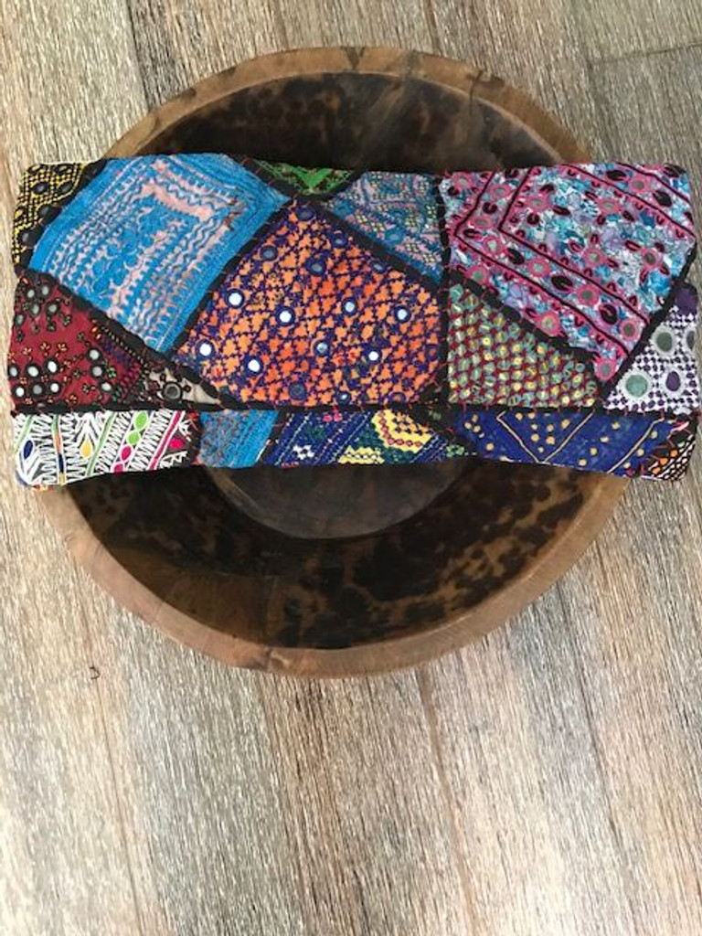 Hand Made Vintage Banjara Cushion 23