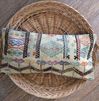 Vintage 'Pastel' Kilim Lumbar Cushion