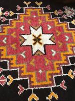 Vintage Tribal Taznakht Rug - Morocco