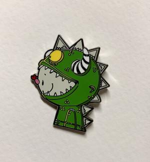 """Dragon Boy 1 1/4"""" size cloisonné pin Butterfly clutch"""