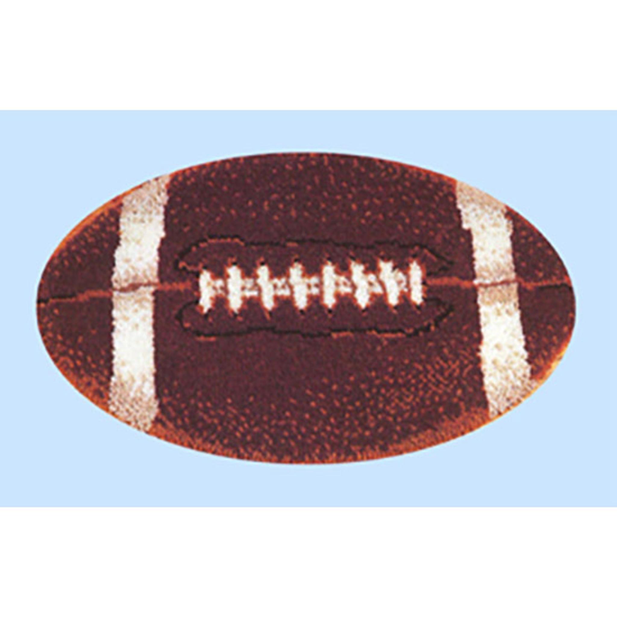 Football Latch Hook Rug Kit