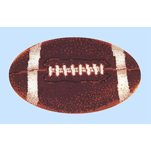 Football Latch Hook Rug Kit