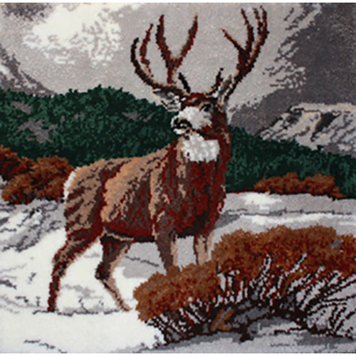 Majestic Deer Latch Hook Rug Kit