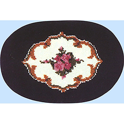 Midnight Romance  Latch Hook Rug Kit