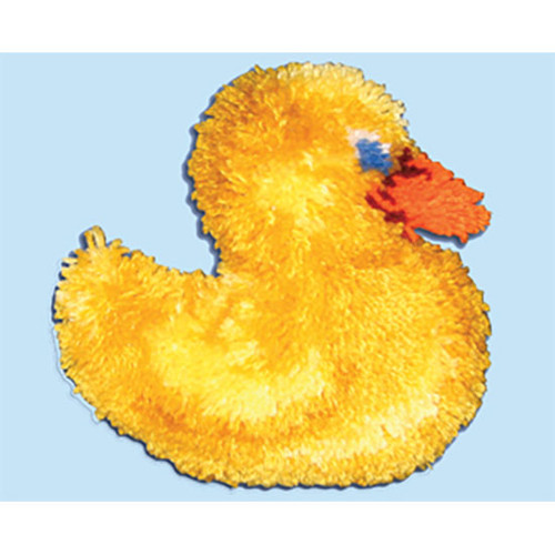 Duck Huggables Latch Hook Pillow Kit